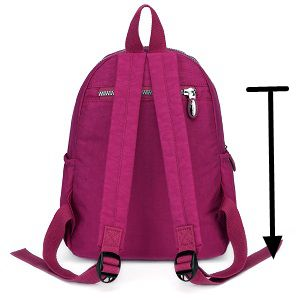 9 Liters AOTIAN Small Lightweight Nylon Casual Travel Hiking Daypack Backpack for Girls and Women