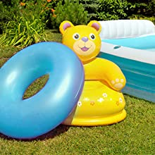 Inflate swimming pool raft ring toys inflatable