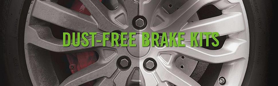 Stirling Front Disc Brake Rotors and Ceramic Brake Pads For 2018 Honda CR-V EX-L 1.5 Liter L4 Two Years Warranty