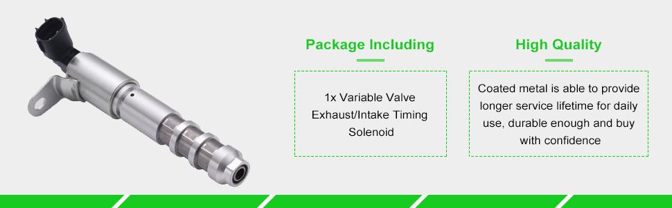 Aintier 917247 Intake Exhaust Variable Valve Timing Solenoid Fit ...