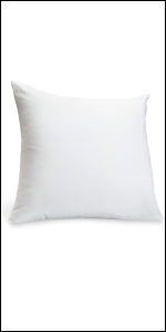 """Also available 20"""" x 20"""" feather euro square pillow for home and office"""