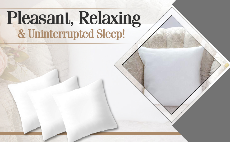 Euro pillow with premium quality fabric.
