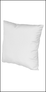 """Also available 16"""" x 16"""" feather euro square pillow for home and office"""