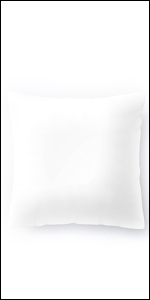 """Also available 18"""" x 18"""" feather euro square pillow for home and office"""