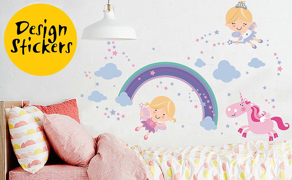 Turn Her Into A Princess Of Her Own Magical Country With Our Fairy Decal.  All This Is Easy And At A Reasonable Price.