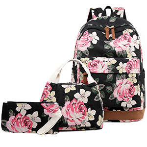 girls floral backpacks