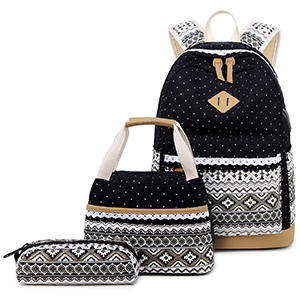 polka dot girls backpacks