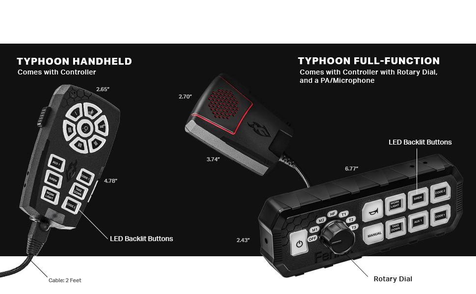 emergency controller, siren, feniex industries, made in usa