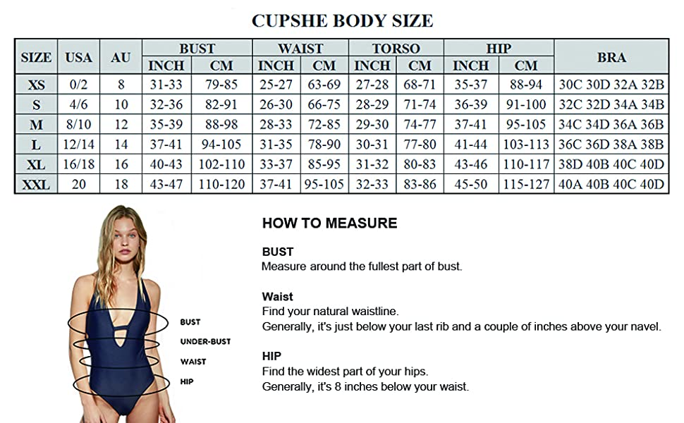 a06e0ed7fd CUPSHE Women s Stay Young Stripe One-Piece Swimsuit Beach Swimwear ...
