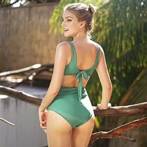4fcfa28bd01 CUPSHE Fashion Women's Double-Layered Padding One-Piece Swimsuit ...