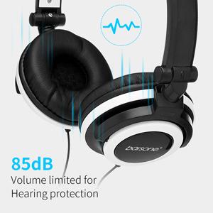 headphones for girls volume limiting