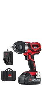NoCry 20V Cordless Impact Wrench Kit