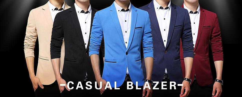 c7869a58f56 Benibos Men s Slim Fit Casual Premium Blazer Jacket at Amazon Men s ...