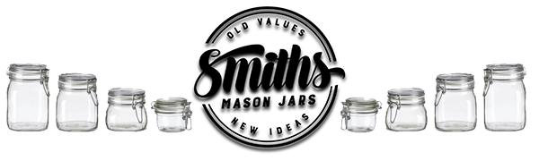 Smiths Mason Jars