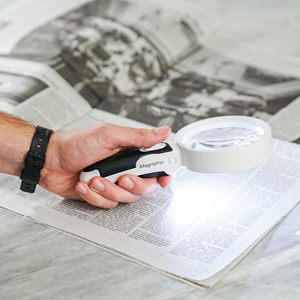 led magnfier, book magnifier, reading magnifier