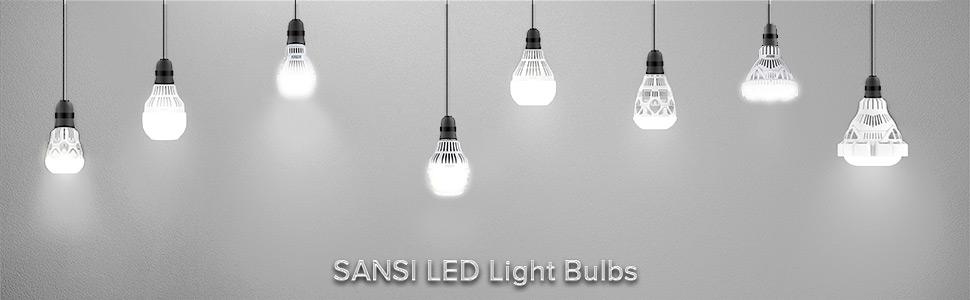 sansi LED Bulbs