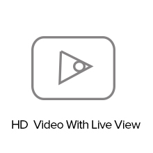 HD video with live view