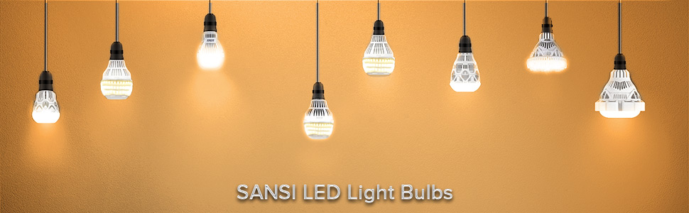 Sansi soft warm LED bulbs