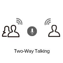 two way talking