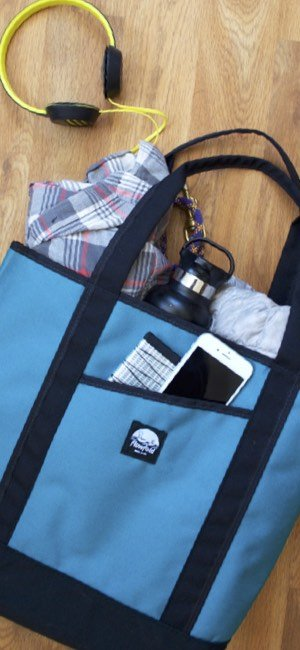 013ec47b0f6c The Flowfold Porter is a medium-sized tote that offers a lightweight and  packable design.