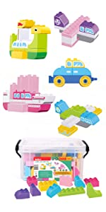 duplo toys for 2 year old boy building toys for 3 year old girls toddler montessori gifts for 4 year