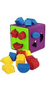 shape sorter toys for 1 year old toddler sorting toddlers baby toy 2 educational learning shapes eti
