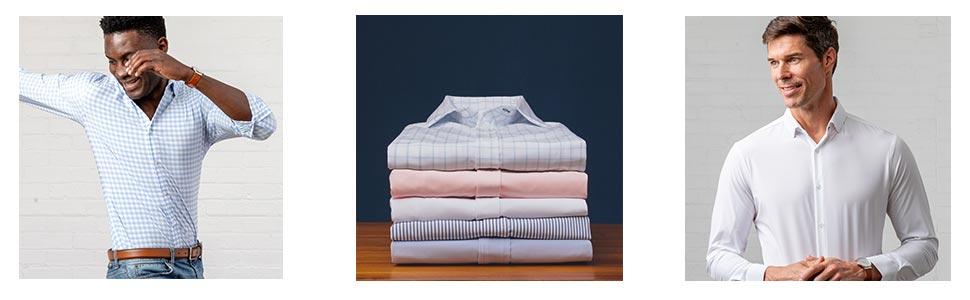 Mizzen + Main Folded Shirts