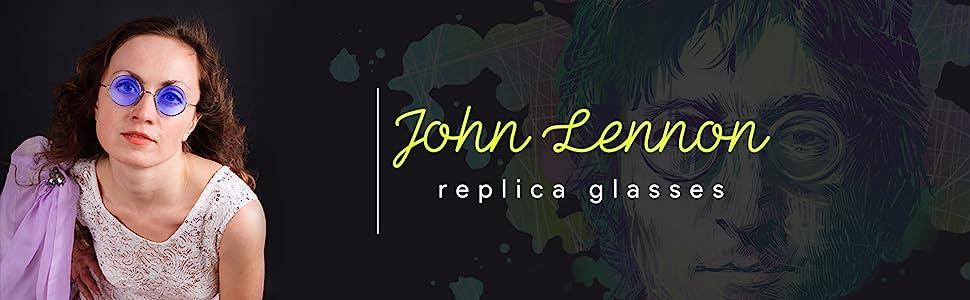 John Lennon Replica Glasses