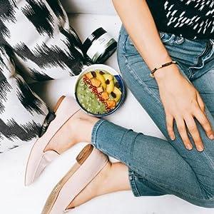 Healthy Gut Digestive Support Supplement, Powder, Peach Banana Flavor, 30 Servings