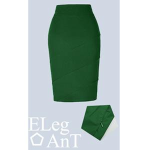 5c0e3ba46e Kate Kasin Women's Knee Length Pencil Skirts Slim Fit Business Skirt ...