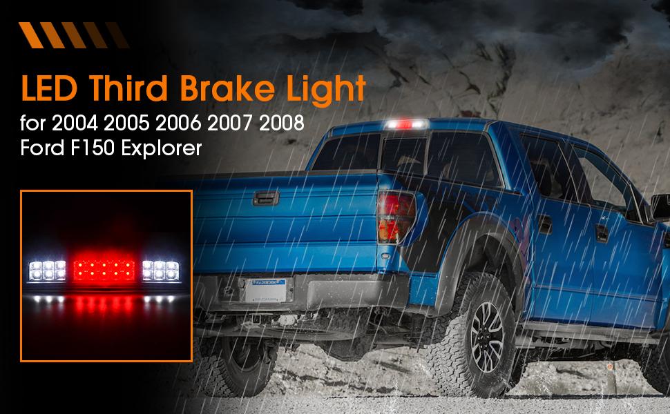LED 3rd Brake Light for Ford F150 Explorer Third Brake Light High Mount Reverse Light