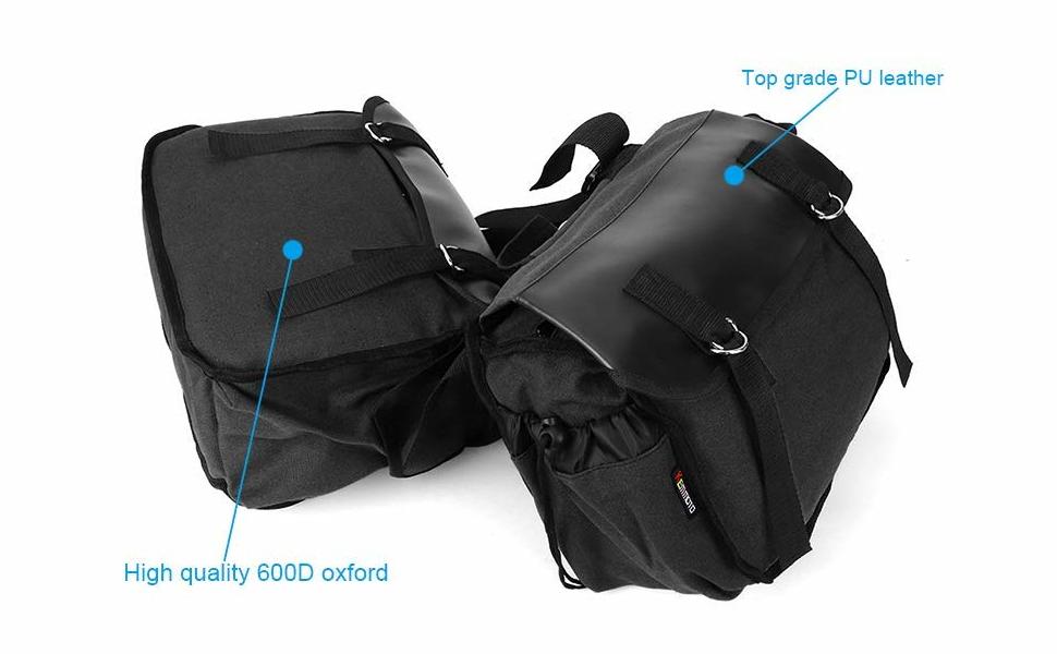 Amazon.com: Bolsa para manillar de motocicleta, bolsa de ...