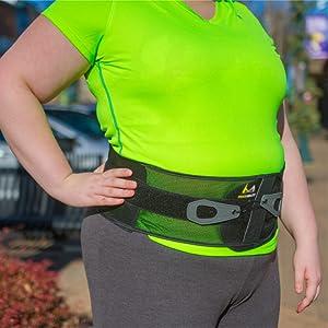 universal back brace for men and women