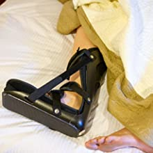 our comfortable plantar fasciitis boot is made to wear to bed