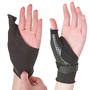 soft undersleeve for hard thumb splint
