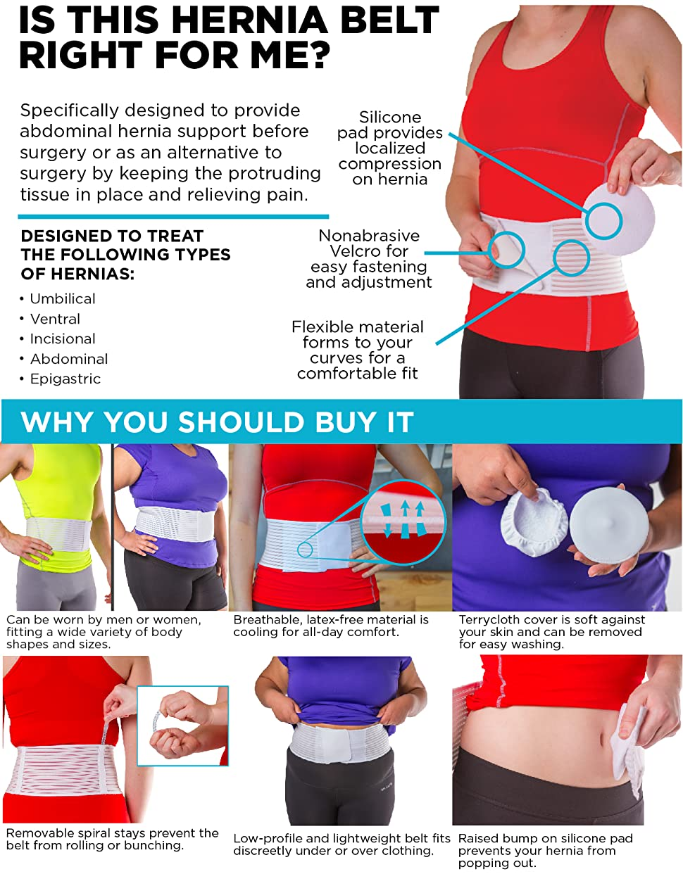 Hernia Belts and Supports  BracePlanetcom