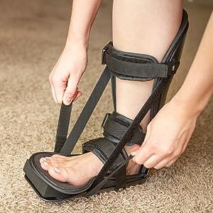 tension straps work as an achilles tendon stretcher