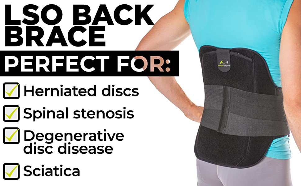 lso back brace for spinal stenosis