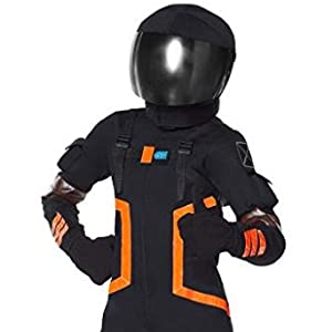 Boys Fortnite Dark Voyager Costume | Officially Licensed