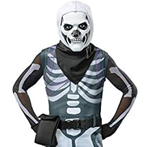 Spirit Halloween Boys Skull Trooper Fortnite Costume | Officially Licensed