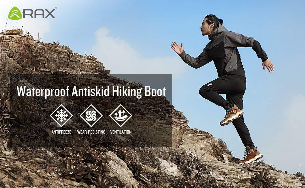 waterproof hiking boot