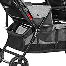 Amazon.com: besrey doble carriola de bebé Tandem Stroller 0 ...