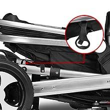 Amazon.com: Besrey 2 in1 Luxury Newborn Baby Stroller for Infant ...