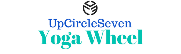 UpCircleSeven Yoga Wheel - [Pro Series] Strongest & Most Comfortable Dharma Yoga Prop Wheel, Perfect Accessory for Stretching and Improving Backbends, ...
