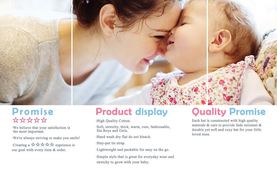 afa975253e2c Amazon.com  IMLECK Baby Girls Ruffle Earmuff Knit Hat Princess ...