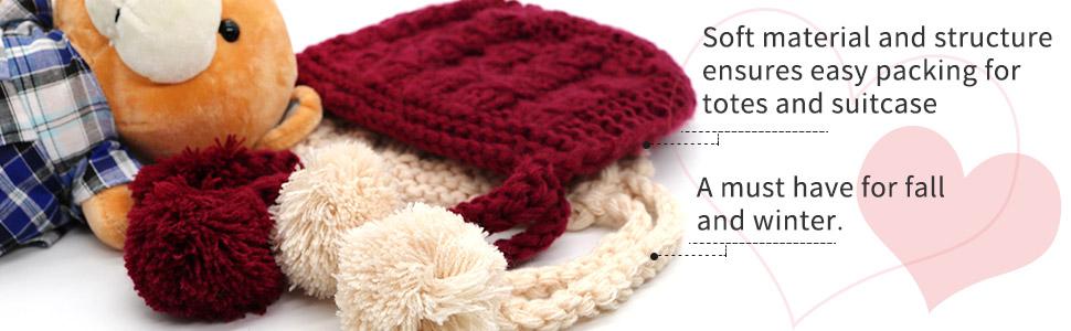 Amazon.com: IMLECK - Gorro de lana para bebé, talla única ...