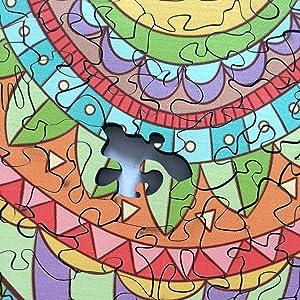 5 Puzzle en Bois /À Encastrement Robuste Jouet Montessori /Éducatif pour B/éb/é Tout-Petits Enfants. Couleurs Vives Animaux Cr/éatures Mer Alphabet V/éhicules Bois de Premium avec des Bords Lisses