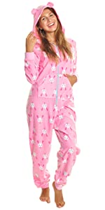 cb2a5a75eb Angelina Women s Fleece Novelty One-Piece Hooded Pajamas · Angelina Cozy  Pajama Pants · Angelina Women s Cozy Fleece Pajama Shorts · Angelina Girl s  Cozy ...