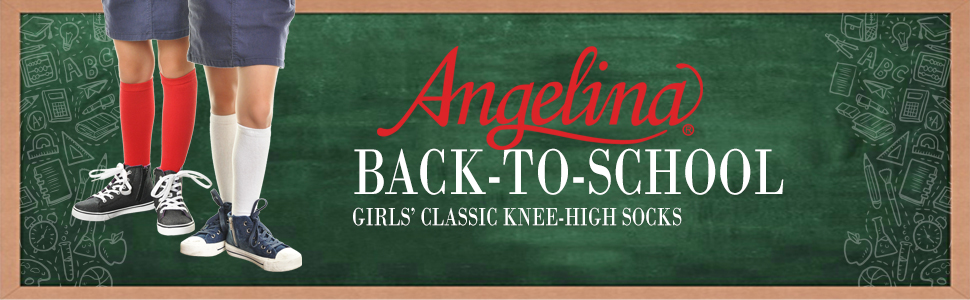 Girls Knee High School Socks Packs of 1 Pair up to 12 Pair LOT
