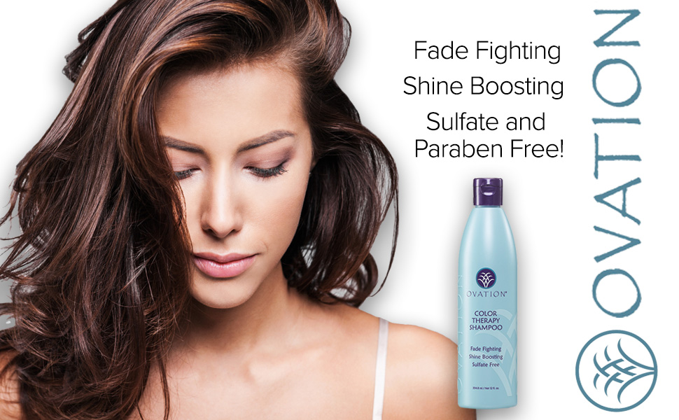 Fade Fighting Shine Boosting Sulfate Paraben Free Shampoo Conditioner Moisture Dry Damaged Hair
